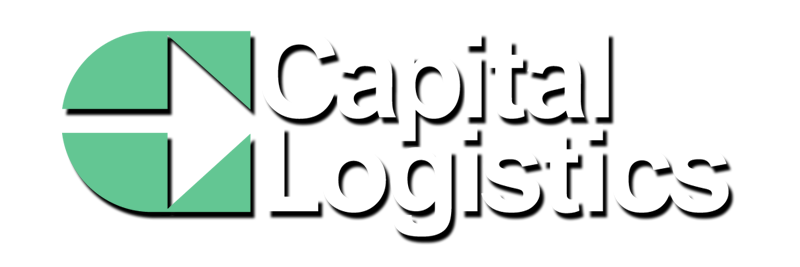 capital logistics logo white with shadow