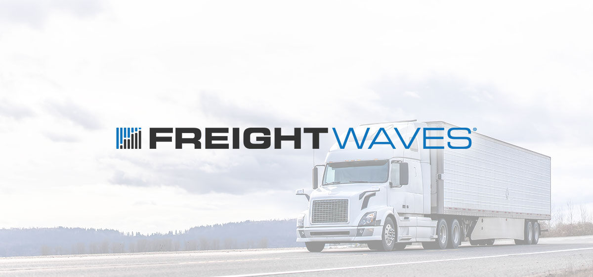 FreightWaves Logo with Truck
