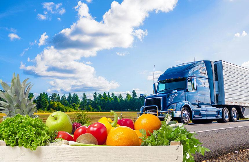 Capital Logistics Trucks Fruits Vegetables
